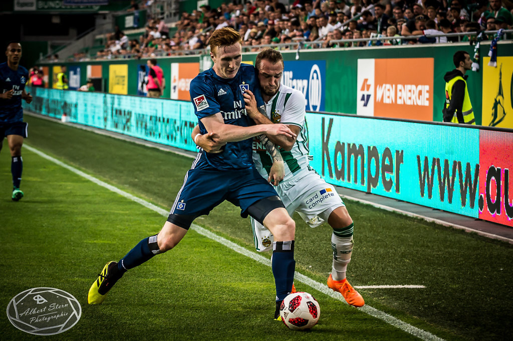 Rapid gegen HSV